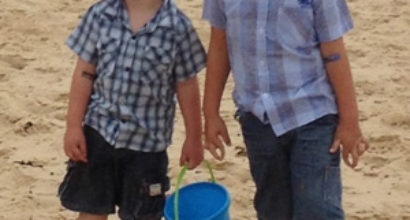 Phillip and James Rare Disease Day 2014